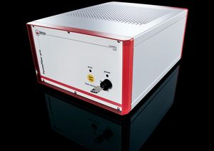 TOPTICA AG - FemtoFiber pro Control Unit: Push ON/OFF button only, key-lock switch, interlock capabilities, 12 inch rack housing including interfaces, driver electronics for pump diodes and power supplies